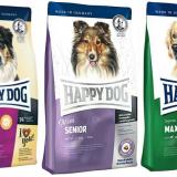Плюсы и минусы корма для собак Happy dog, а также его состав