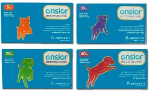 Подробный обзор препарата Онсиор для собак, плюс инструкция по применению