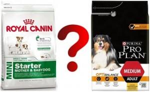 Что будет, если сравнить корма для собак Роял Канин и ПроПлан, какой из них окажется лучше?
