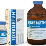 Травматин: инструкция по применению и дозировке для собак