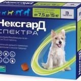 Как правильно применять Нексгард Спектра для устранения паразитов у собаки?