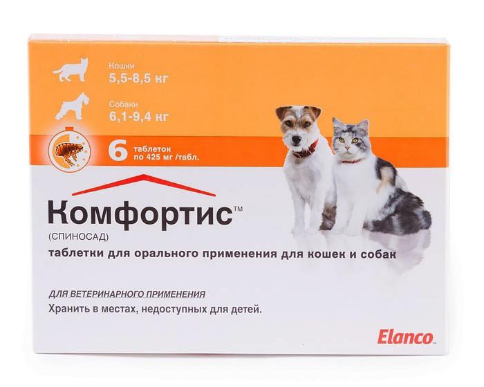 Жевательные таблетки от блох