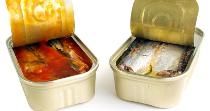 Консервированная рыба