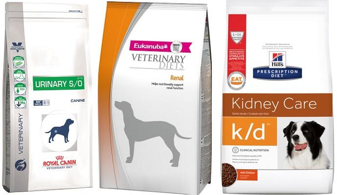 Питание для собак с мочекаменной болезнью