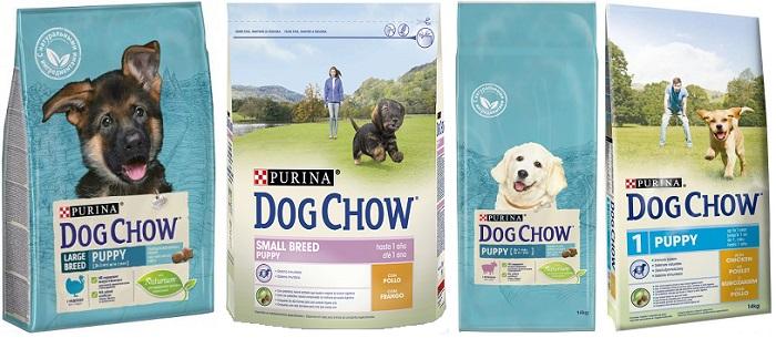 Корм Дог Чау для щенков