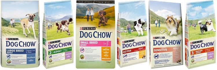 Линейка питания для взрослых собак