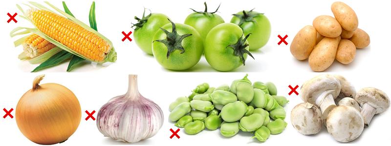 Какие овощи нельзя давать собакам?
