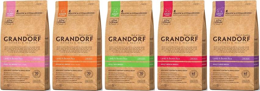 Виды питания Грандорф