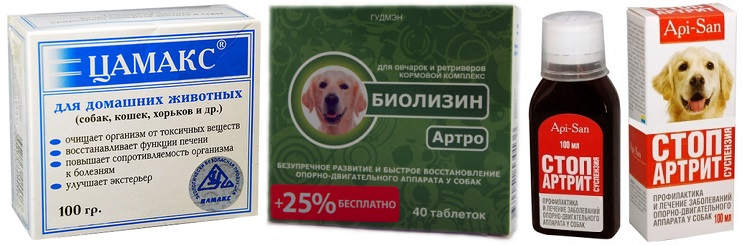 Аналоги Артрогликана для собак