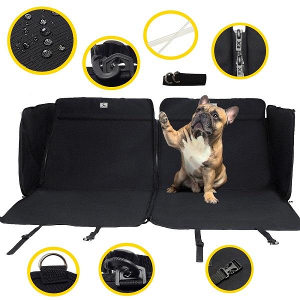 Дополнительные приспособления автогамака для перевозки собак