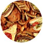 Жирная и жаренная еда