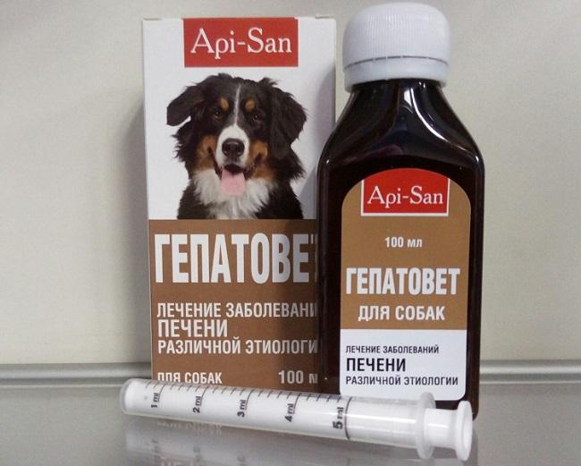 Инструкция по применению Гепатовет для собак
