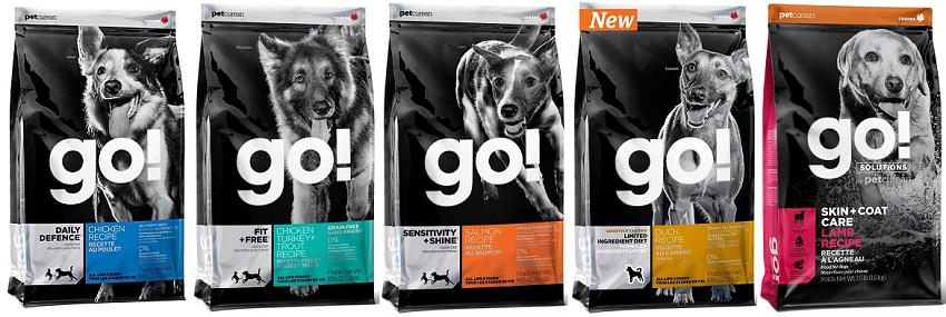 Разновидности корма для собак Гоу