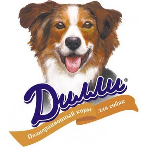 Кто производит корм Дилли для собак?