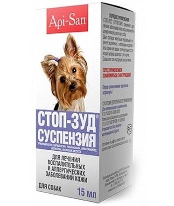 О препарате Стоп-зуд для собак