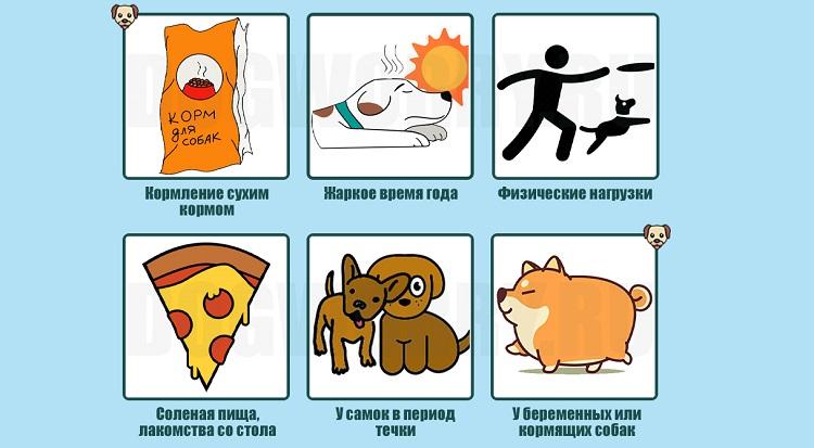 Причины, не связанные с болезнями