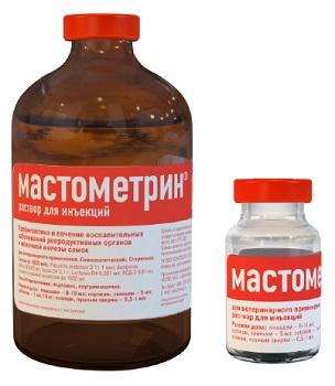 Форма выпуска Мастометрина для собак