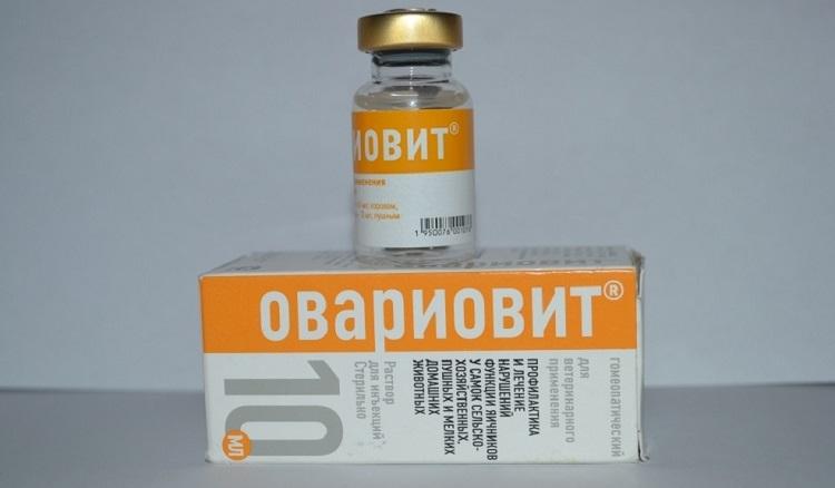 Форма выпуска препарата Овариовит для собак