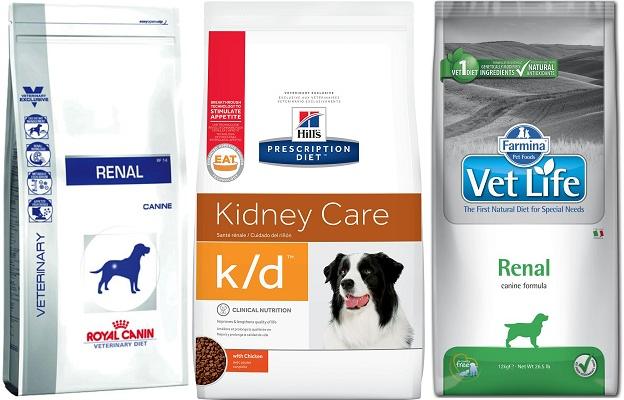 Правила подбора питания для собак при заболеваниях почек