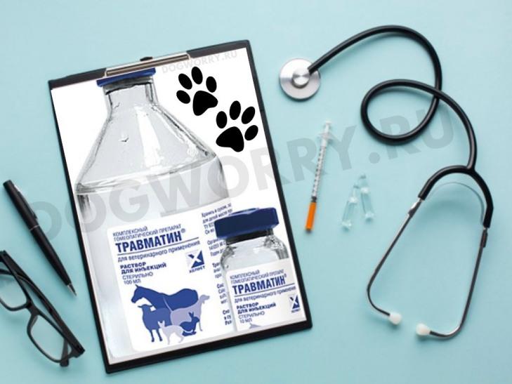 Травматин в ветеринарии