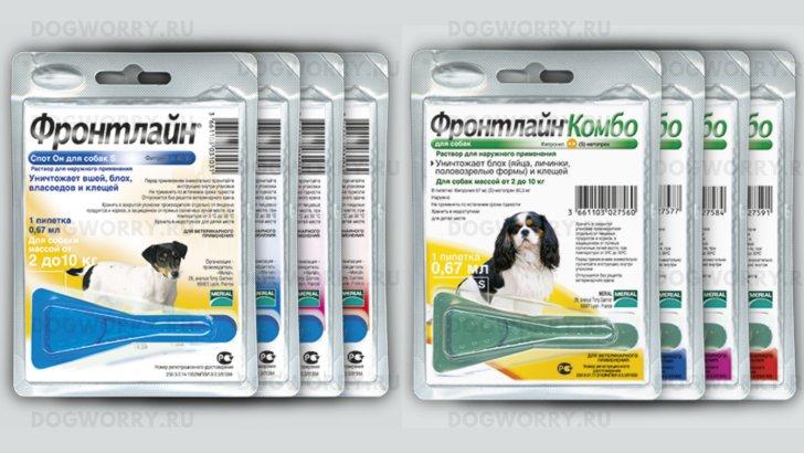 Фронтлайн комбо для собак инструкция по применению